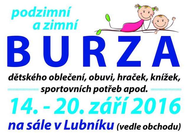 c4e452a780d5 Obec Lubník - Aktuality - Podzimní a zimní burza dětského oblečení ...